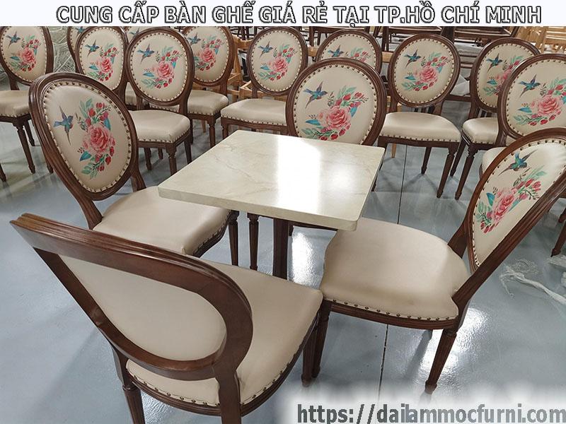 Bàn ghế đẹp giá rẻ trong mùa dịch tại thành phố Thủ Đức Hồ Chí Minh