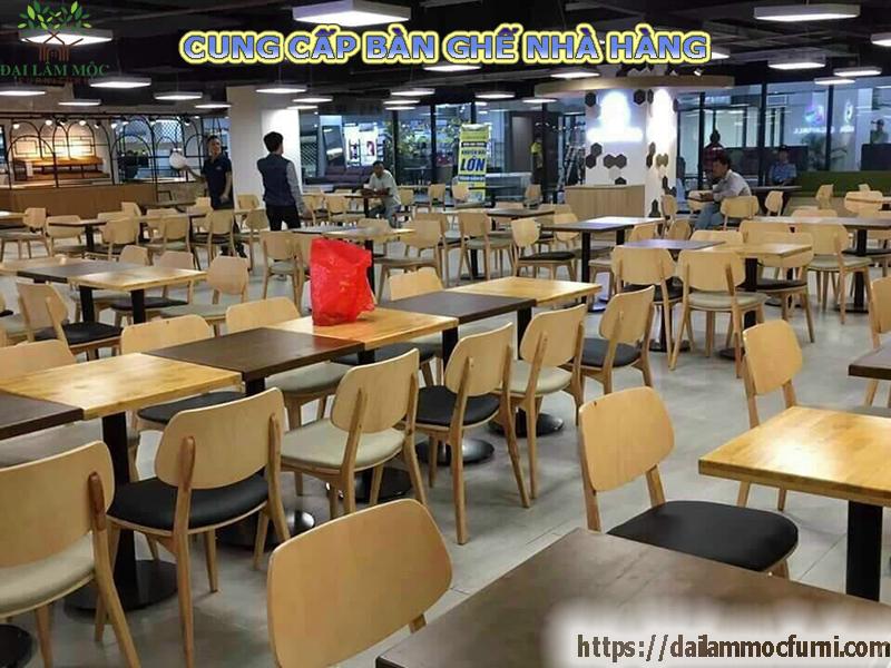 Bàn ghế nhà hàng ăn lẩu và thức ăn nhanh giá rẻ nhất Biên Hòa Đồng Nai